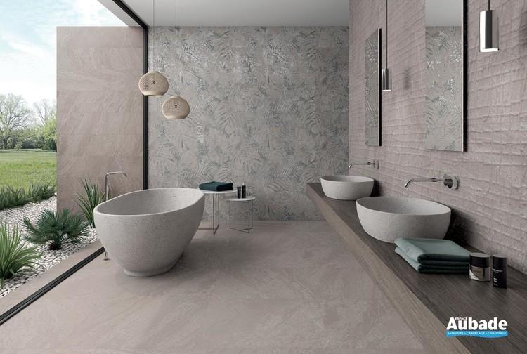 Collection Slatestone par Ibero en coloris Grey