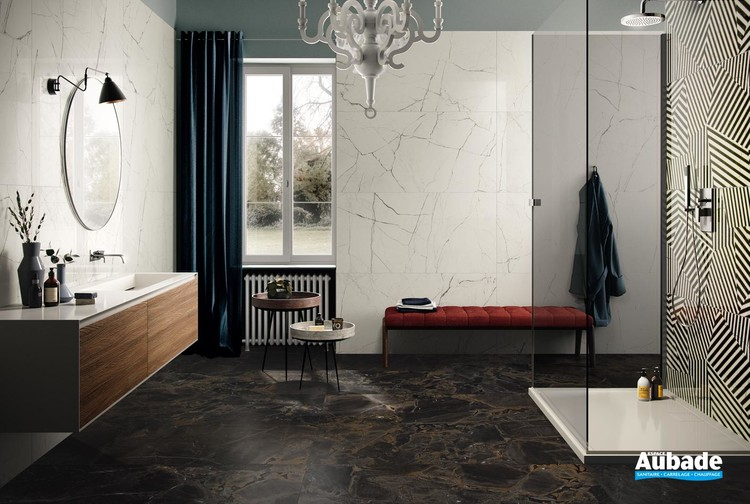 Collection The Room par Imola en coloris Statuario Vena Piccola, Infinity Brazil et Zebra