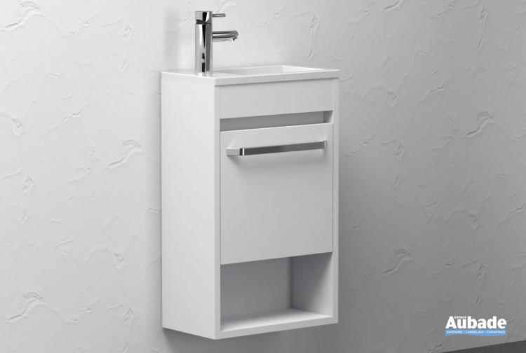 Lave-mains Sun coloris Blanc de la marque Lido
