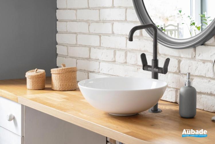 Mélangeur lavabo haut bec orientable de Cristina