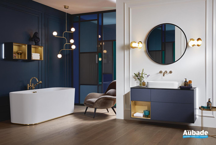 meuble salle de bain villeroy boch finion
