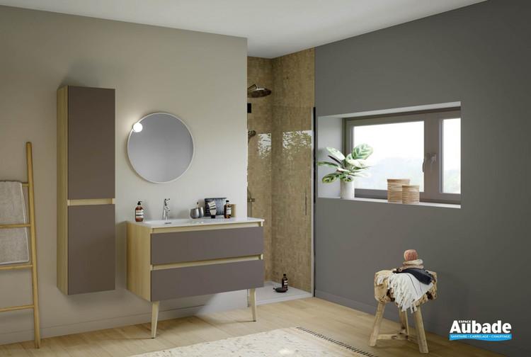 Meuble de salle de bains Intuitive 100 de Delpha