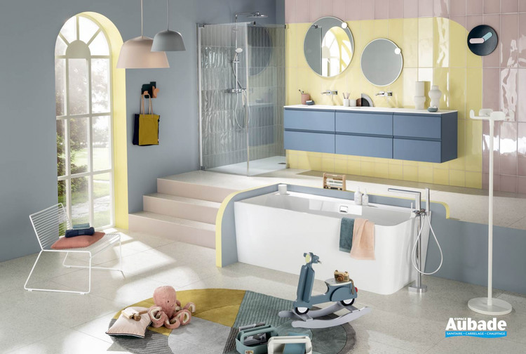 Meuble de salle de bains Unique Velours de Delpha