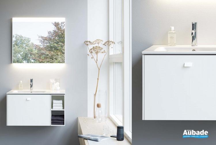 meuble salle de bains duravit me by starck brioso blanc