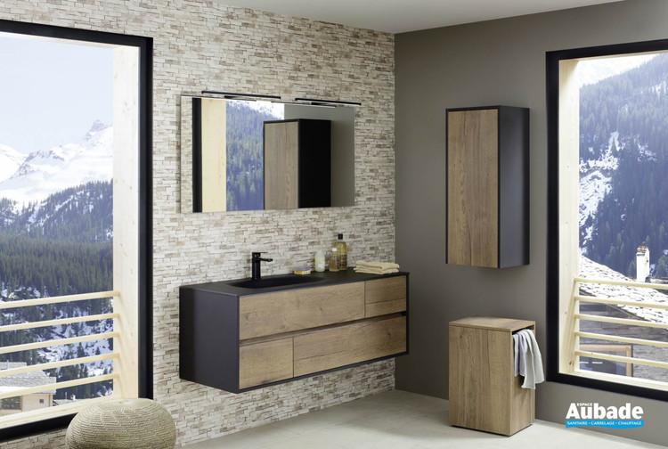 Meuble de salle de bains Frame 140 cm de Sanijura