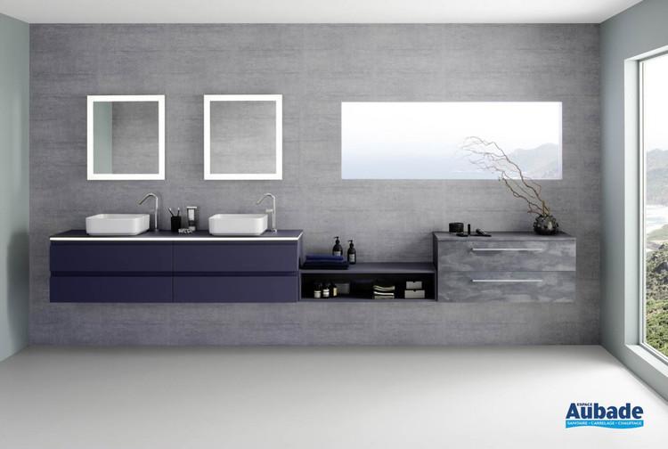 Meuble de salle de bains Halo 180 cm Galaxy Soft de Sanijura