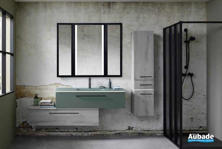 Meuble de salle de bains Halo Eucalyptus