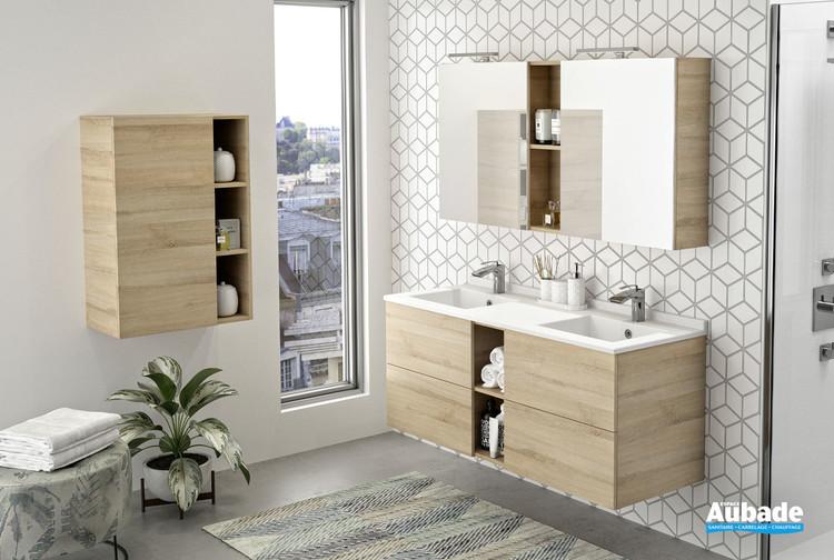 Meubles double vasque Open coloris messina de la marque Ambiance Bain