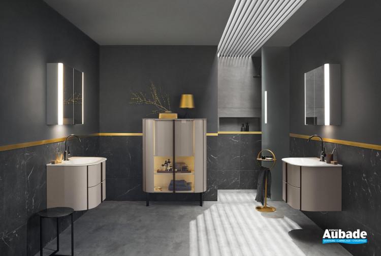 Meuble de salle de bain au design moderne Lavo 2.0 de Burgbad