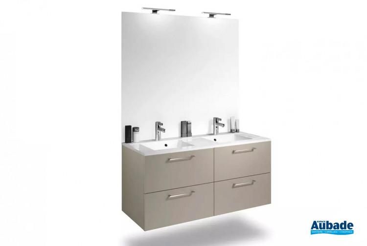 Meuble de salle de bains Duo Express 120 de Delpha