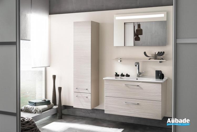 Meubles salle de bains bois Delpha Unique 93 | Espace Aubade