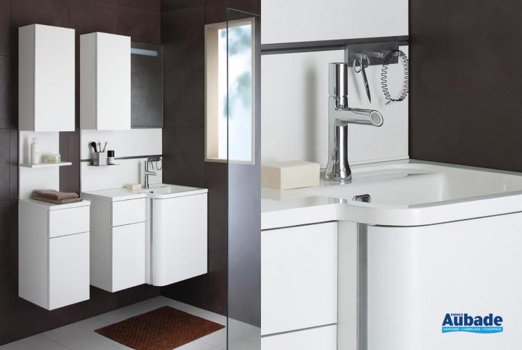 meubles de salle de bains Sanijura collection Bump