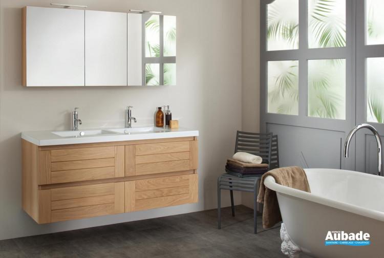 4912ba3c7c2 meubles de salle de bains Sanijura gamme Lignum
