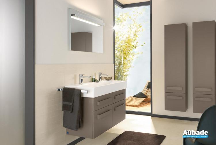 Meubles salle de bains villeroy et boch up2u espace aubade - Showroom salle de bain villeroy et boch ...