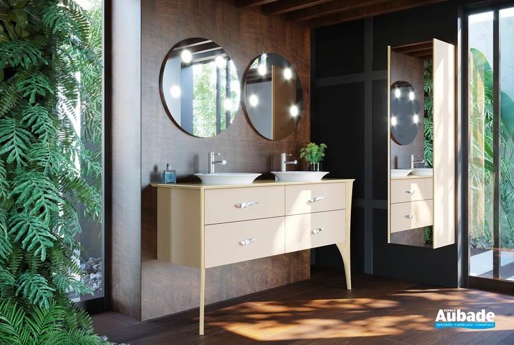 Miroir Tiffany Rond Decotec