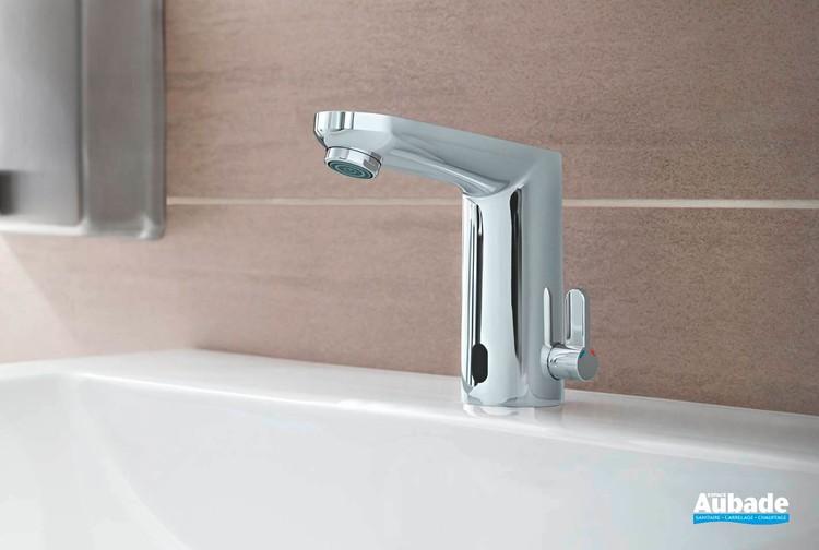 Mitigeur lavabo infrarouge Eurosmart Cosmopolitan E Chromé