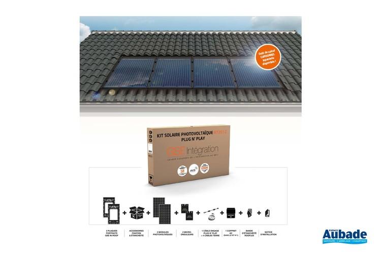 Panneau solaire photovoltaïque GSE Kit RT 2012