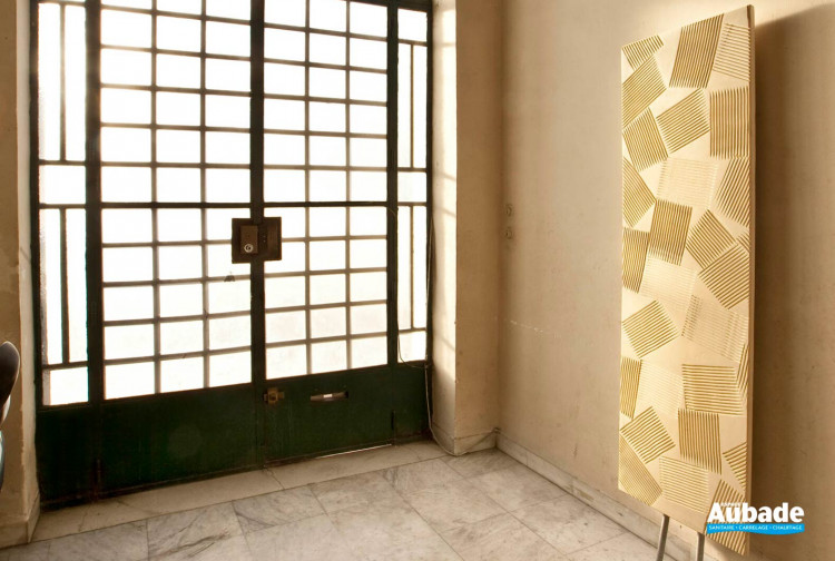 Radiateur électrique ultra-design Jeux d'ombres par Cinier