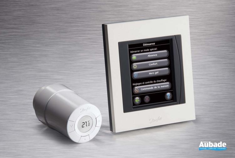 Radiateurs chauffage central Danfoss Régulateur d'ambiance Living Connect