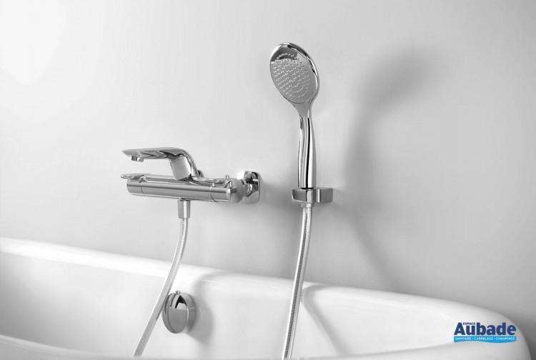 Mitigeur bain/douche contemporain Naja de Horus