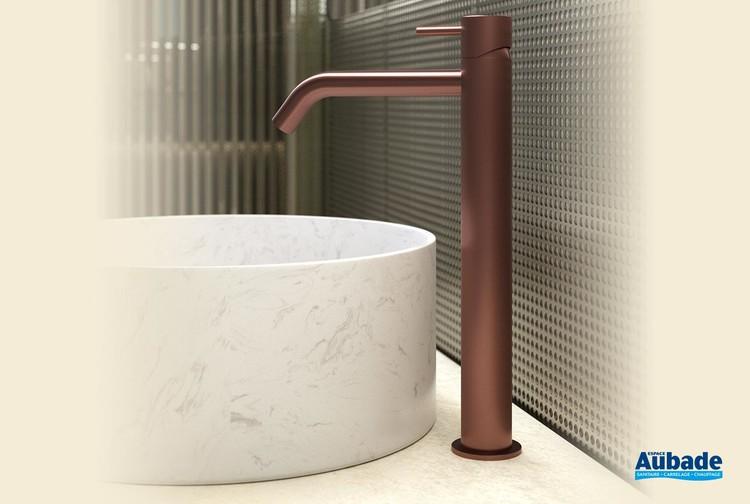 Mitigeur lavabo rehaussé sans vidage Equinox 316 par HORUS