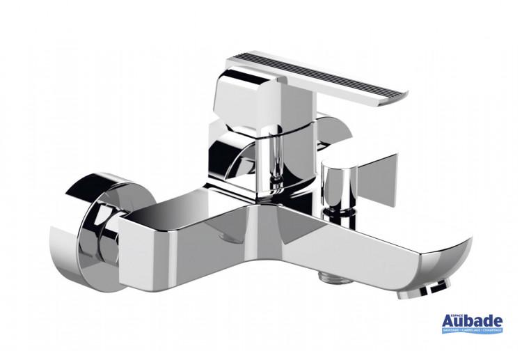 Mitigeur bain/douche mural mécanique Néo finition chromé par Horus