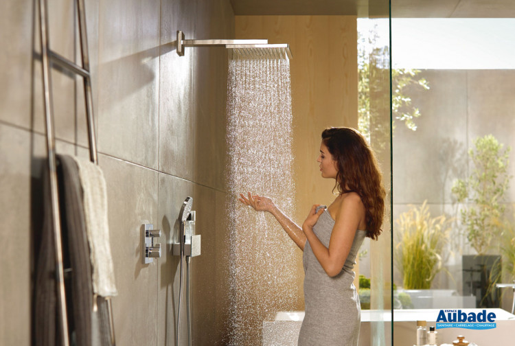 robinetterie douche hansgrohe solution encastree 2 fonctions raindance