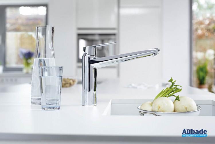 robinets évier de cuisine Grohe Eurodisc mitigeur