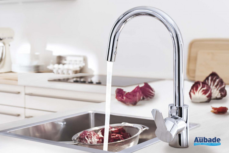 robinetterie evier grohe eurostyle cosmopolitain