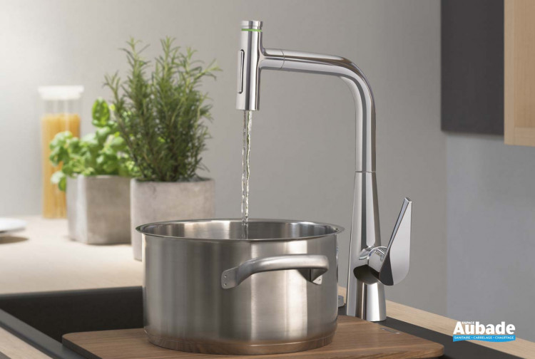 robinetterie evier hansgrohe m5117 h220