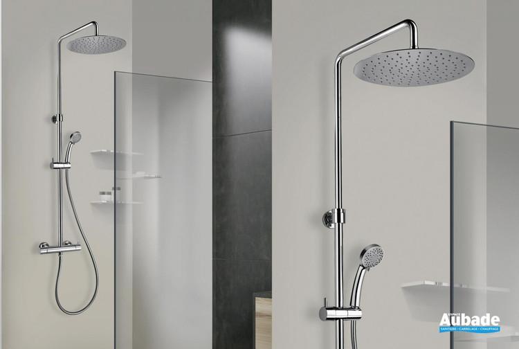 Colonne de douche thermostatique Shower Line 250 coloris chromé de la marque Paini Italie