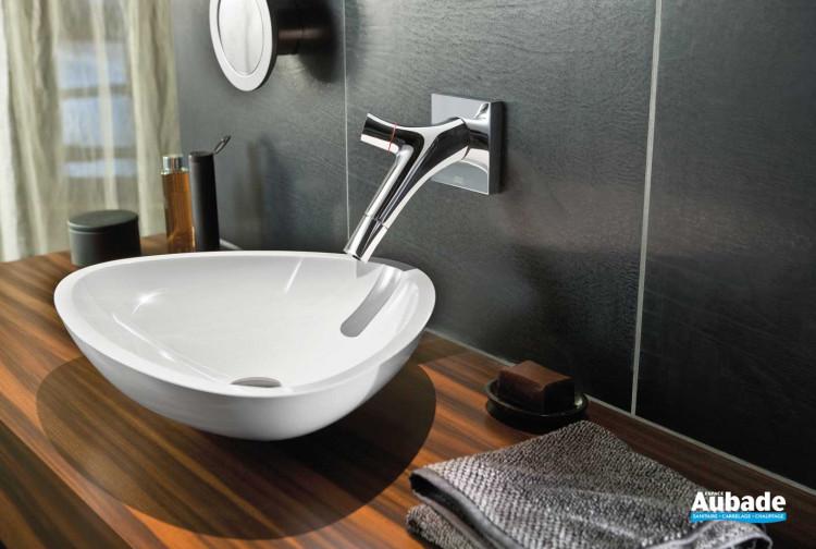 Robinets lavabos & vasques Axor Axor Starck Organic mural