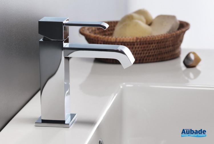 Robinets lavabos & vasques Cristina Quadri carré