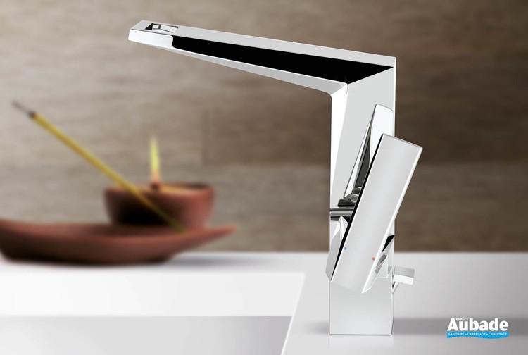 Mitigeur lavabo chromé taille L Allure Brilliant de Grohe