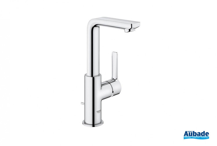 robinetterie lavabo grohe lineare taille