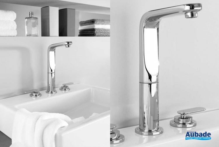 Robinets lavabos & vasques Grohe Veris 3 trous