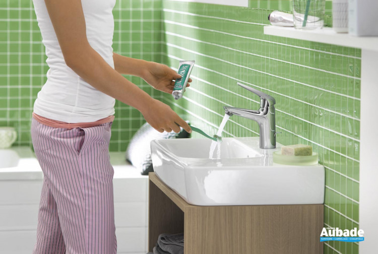 Mitigeur lavabo Novus 100 de Hansgrohe