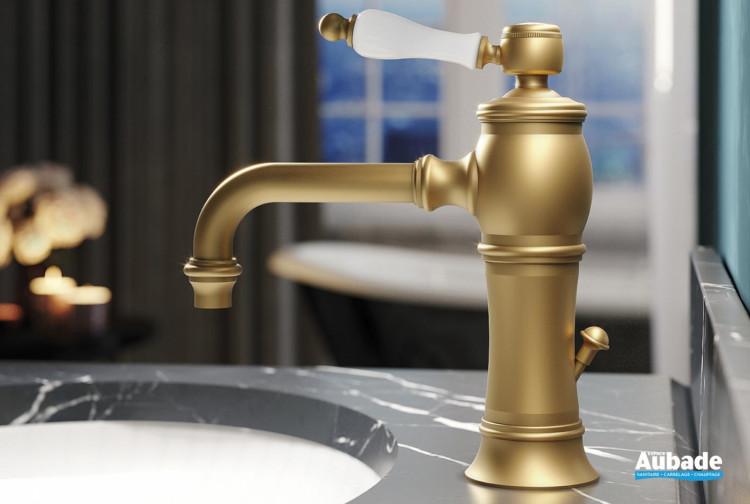 Mitigeur lavabo avec raccords flexibles Eloise de la marque Horus