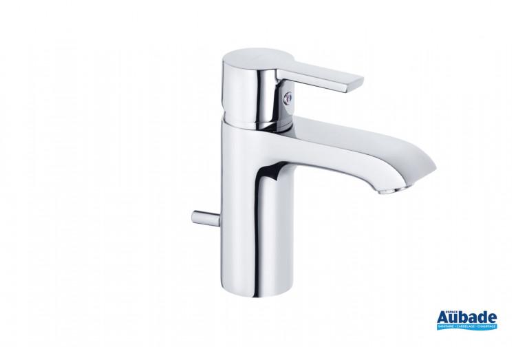 Mitigeur de lavabo Lobo hauteur 150 finition chromé de la marque Kludi