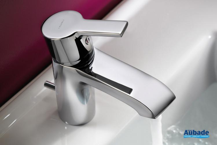 Mitigeur lavabo Lobo hauteur 163 finition chromé de la marque Kludi