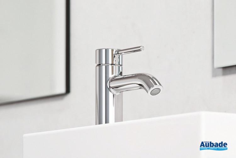 Mitigeur lavabo bas New Bozz finition chromé de Kludi
