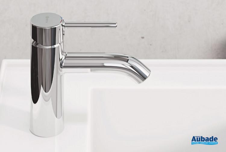 Mitigeur lavabo medium New Bozz finition chromé de Kludi