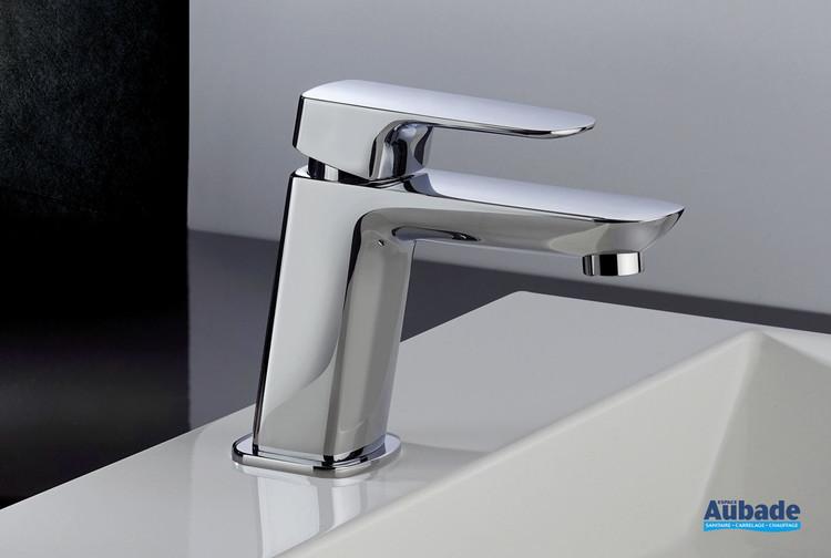 Mitigeur lavabo bas New-York finition chromée par Paini Italie