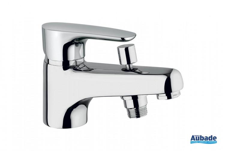Mitigeur bain et douche monotrou Parallèle 2 finition chromée de la marque Paini Italie