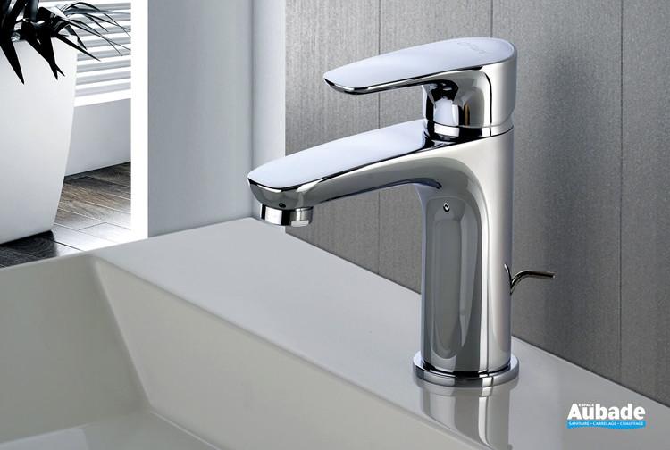 Mitigeur lavabo medium Parallèle 2 chromé de la marque Paini Italie