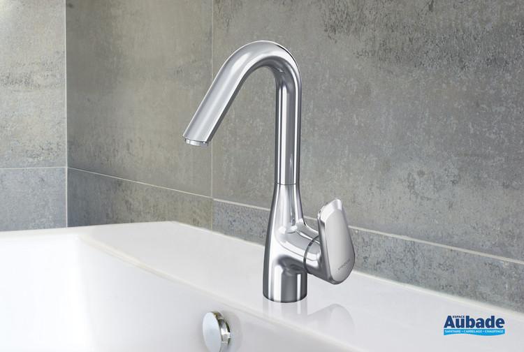 Robinet mitigeur lavabo haut avec vidage Derby Style de la marque Vigour