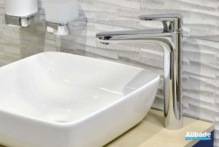 Robinet mitigeur pour lavabo et vasque rehaussé Derby Style par Vigour