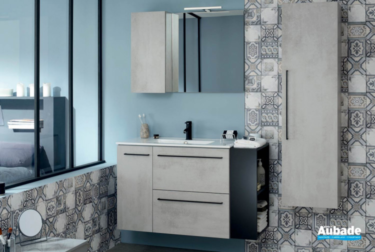 Meuble de salle de bain Gamme Impact de Sanijura