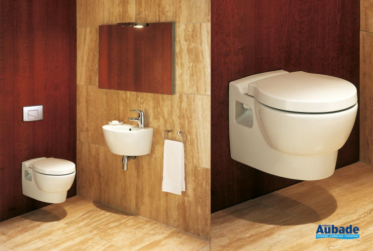 toilettes wc suspendu ove de jacob delafon espace aubade. Black Bedroom Furniture Sets. Home Design Ideas