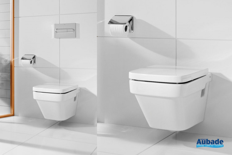 WC Roca suspendu compact Dama-N suspendu